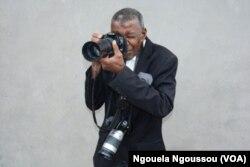 Victor Miakabana dit Macabus, à Brazzaville, le 19 octobre 2016. (VOA/Ngouela Ngoussou)