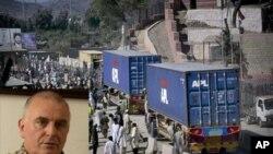 ناتو:'مسدود بودن راه ها به افغانستان و پاکستان زیانبار است.'