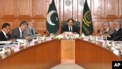 چیف جسٹس افتخار محمد چوہدری اجلاس کی صدارت کرر ہے ہیں