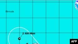 Cơn áp thấp nhiệt đới Katia có thể mạnh lên thành bão