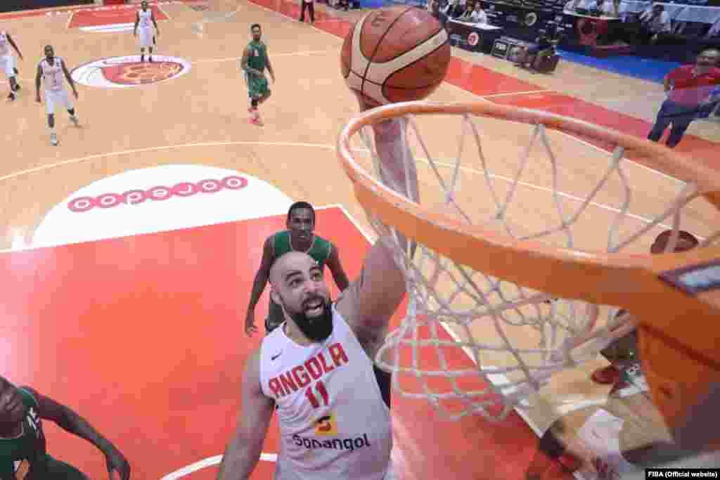 Reggie Moore, selecção de Angola no AfroBasket2015