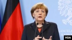 ນາຍົກລັດຖະມົນຕີເຢຍຣະມັນ ທ່ານນາງ Angela Merkel