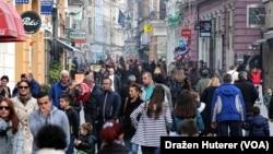 Ulica Ferhadija u Sarajevu