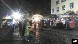 重慶煤礦爆炸救援工作正在進行