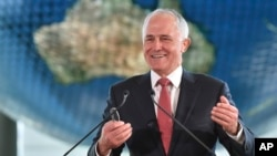 PM Australia Malcolm Turnbull (foto: dok). Pemerintah Australia didesak untuk menunjuk kepala negara Australia sendiri terpisah dari Inggris.