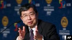 Chủ tịch ADB Takehiko Nakao nói tăng trường khu vực dựa nhiều vào thương mại