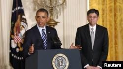 奧巴馬提名傑克.盧為財政部長