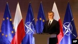 Minister of National Defence of Poland Tomasz Siemoniak