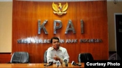Ketua KPAI, Susanto. (Courtesy: KPAI)