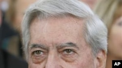Mario Vargas Llosa (File Photo)