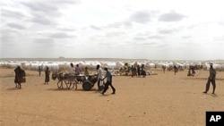 埃塞俄比亚的一处难民营(2012年资料照)
