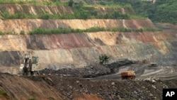 Salah satu lokasi tambang emas di Afrika Tengah (foto: dok).