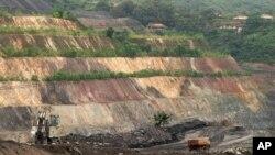 아프리카 가나의 금광 지대. (자료사진)