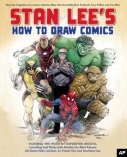 With his new book, Lee hopes to draw more creative artists into the world of comics.