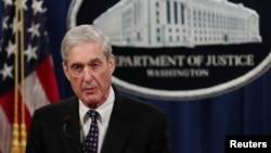 အထူးစံုစမ္းစစ္ေဆးေရးမွဴး Robert Mueller (ေမ၊ ၂၉၊ ၂၀၁၉)