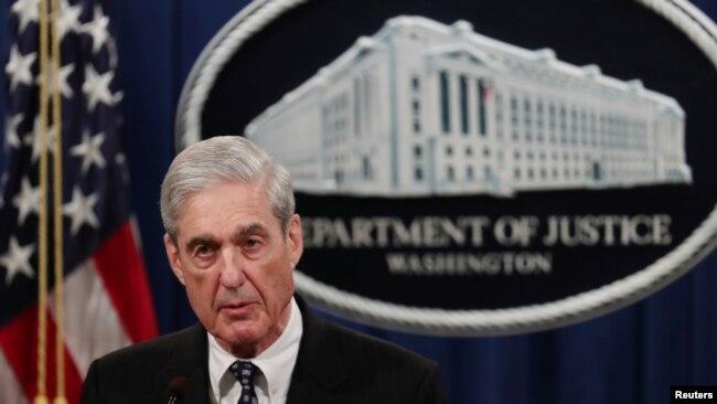 Ông Mueller lần đầu lên tiếng về cuộc điều tra của ông về ông Trump