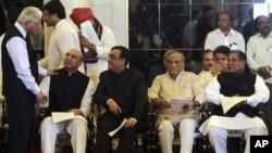 بھارتی کابینہ کے نئے وزیر
