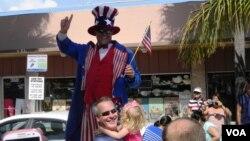 佛羅里達州羅德岱堡7月4日獨立日遊行