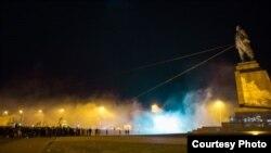 Повалення Леніна у Харкові. 28 вересня 2014 року