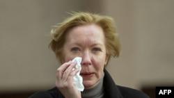 Բելառուսում ԵՄ-ի պատվիրակության ղեկավար, դեսպան Մայրա Մորա, 28 փետրվարի 2012թ.