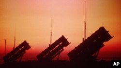 The Patriot missile defense system