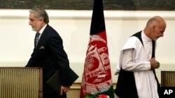Shartnomaga ko'ra, Ashraf G'ani endi prezident, Abdulla Abdulla bosh vazir deb e'lon qilindi. Lekin tanqidchilar bu ittifoq Afg'onistonning dardini va nuqsonlarini hal qiladigan darajada mustahkam ekaniga ishonmayapti.