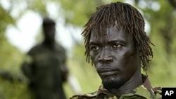 圣主抵抗军的指挥官阿什拉姆2006年9月在苏丹南部