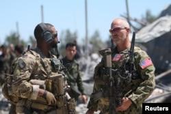 Suriyadagi AQSh askarlari