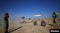 Abarwanyi b'abashiite batera ibisasu vya Roketi muri Iraki