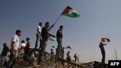 Người Palestine biểu tình gần biên giới Gaza và Israel