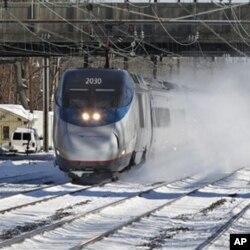 Les TGV, un des secteurs d'investissment selon le président Obama