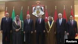 Arab Ligasi tashqi ishlar vazirlari va tashkilot bosh kotibi Iordaniyada AQShning Quddusni Isroil poytaxti deb tan olish qarorini muhokama qildi, Ummon, 6-yanvar, 2018-yil