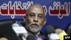Lãnh đạo nhóm Huynh Ðệ Hồi giáo của Ai Cập Mohammed Badie.
