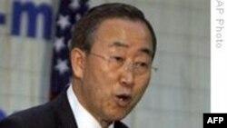 سخنگوی سازمان ملل: بان کی مون پیروزی محمود احمدی نژاد را تبریک نگفته است