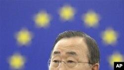 ເລຂາທິການໃຫຍ່ຂອງອົງການສະຫະປະຊາຊາດທ່ານ Ban Ki-moon ກຳລັງຢ້ຽມເອເຊຍ