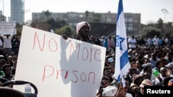 African Refugees Protest Israeli Migrant Laws