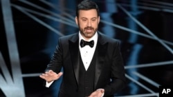 Jimmy Kimmel told politicians to do something to prevent more shootings like the one that killed 59 people in Las Vegas.