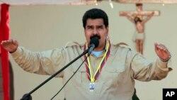 馬杜羅在全國電視演說中宣佈驅逐美國高級外交官