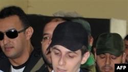 Гилад Шалит на свободе. 18 октября 2011 г.