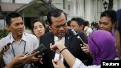 Jaksa Agung H.M. Prasetyo di Istana Presiden, Jakarta. (Foto: Dok)