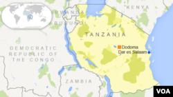 Tanzaniya kw'ikarata