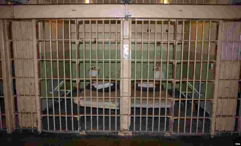 Ćelija kako je izgledala spremna za prihvat novog zatvorenika.