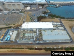 FILE - The Carlsbad Desalination Plant in Carlsbad, Calif., north of San Diego, is the largest seawater desalination plant in the Western hemisphere and the latest one to come online worldwide.