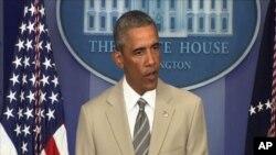 Tổng thống Obama nói ưu tiên của ông là làm giảm bớt những thắng lợi của các phần tử chủ chiến Nhà nước Hồi Giáo đã đạt được tại Iraq