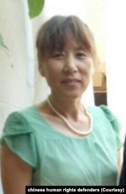 中国江苏省维权人士王和英(取自人权捍卫着网站)