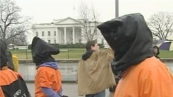 Guantanamo's 10th Anniversary Marked by Protests