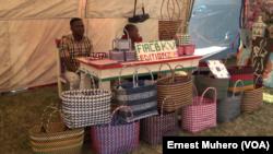 Deuxième édition de la FIAC à Bukavu, le 18 aout 2019. (VOA/Ernest Muhero)
