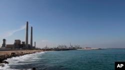Vue générale d'une partie de la région d'Eshkol qui abrite notamment une centrale produisant de l'électricité à partir du gaz naturel dans le sud d'Israël, le jeudi 7 octobre 2015.