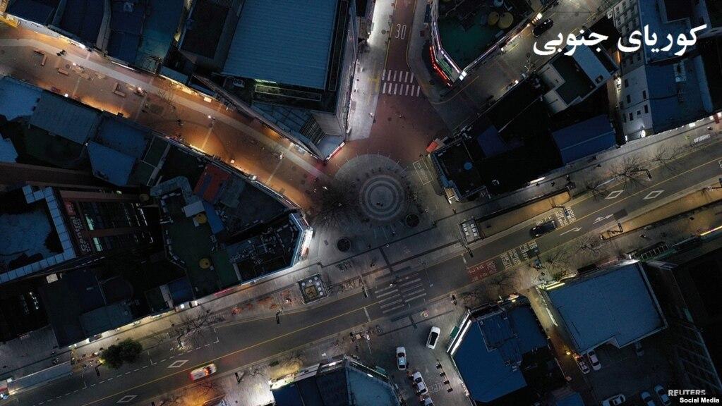 یکی از چهارراه های مشهور شهر سیول پایتخت کوریای جنوبی
