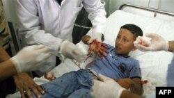 5 trẻ em và 3 phụ nữ trong số 13 người bị thương